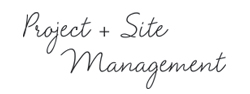 Project and site management